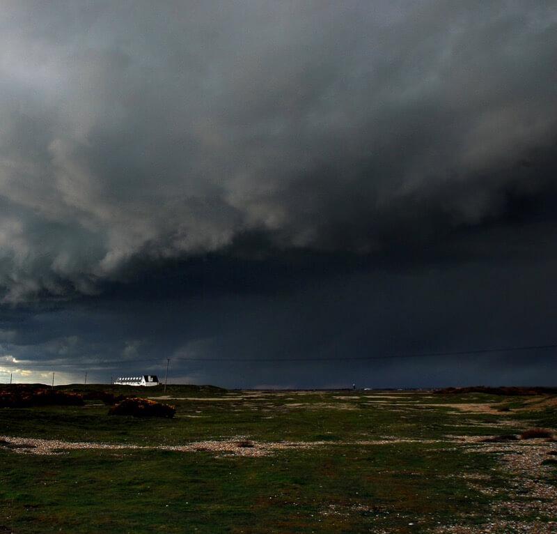Richard Watkins LRPS - Dungeness Storm
