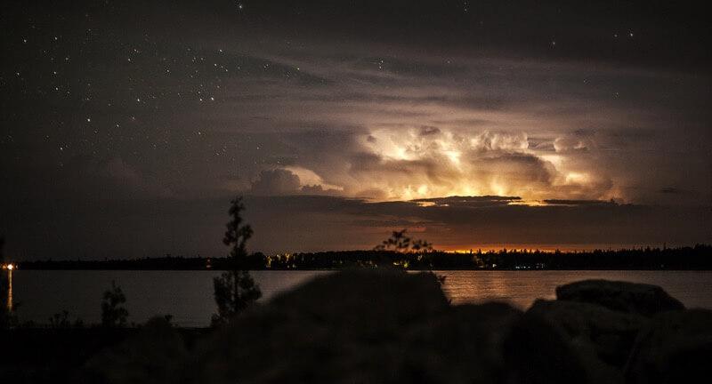 Ben Roffelsen Photography thunderstorm