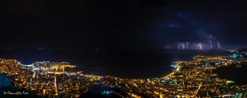 Fotis Mavroudakis - Thunderstorm Panorama