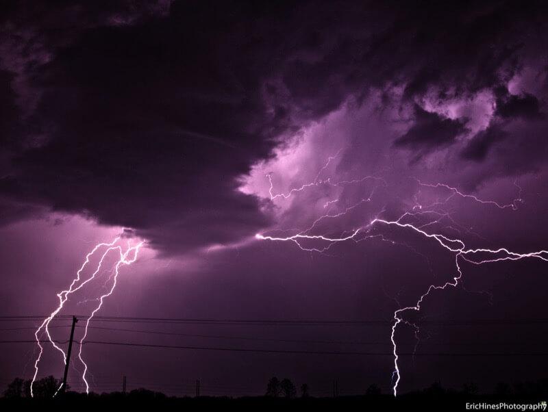 Eric Hines - Indiana Lightning Storm