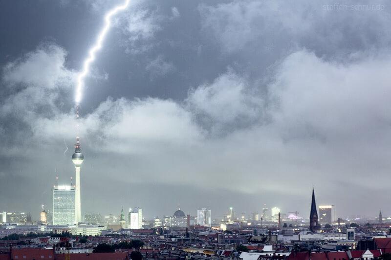 Thunderstorm Berlin