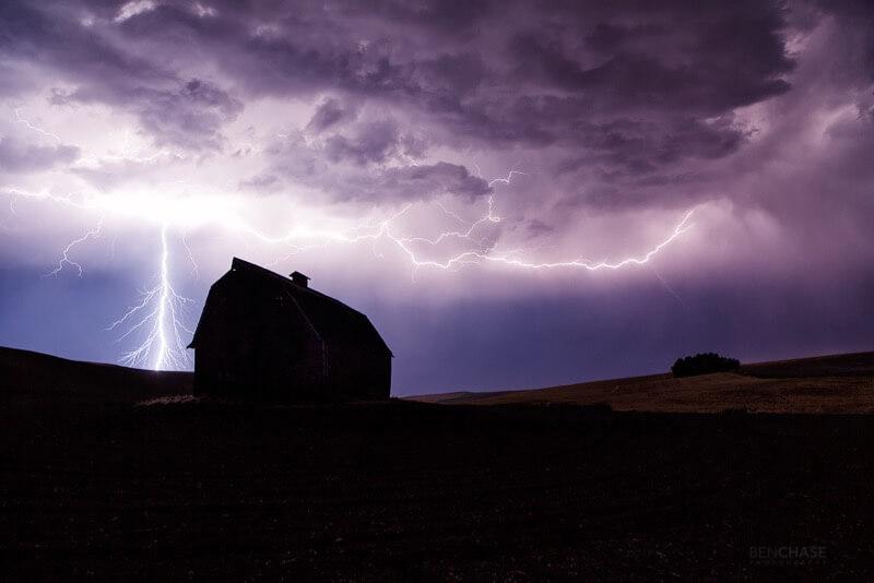 Benjamin Chase - Palouse Lightning