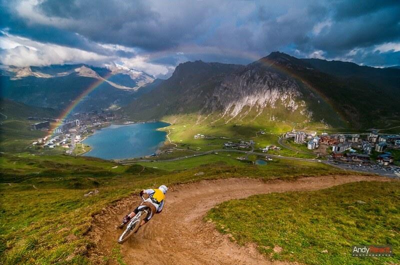 rainbow motocross