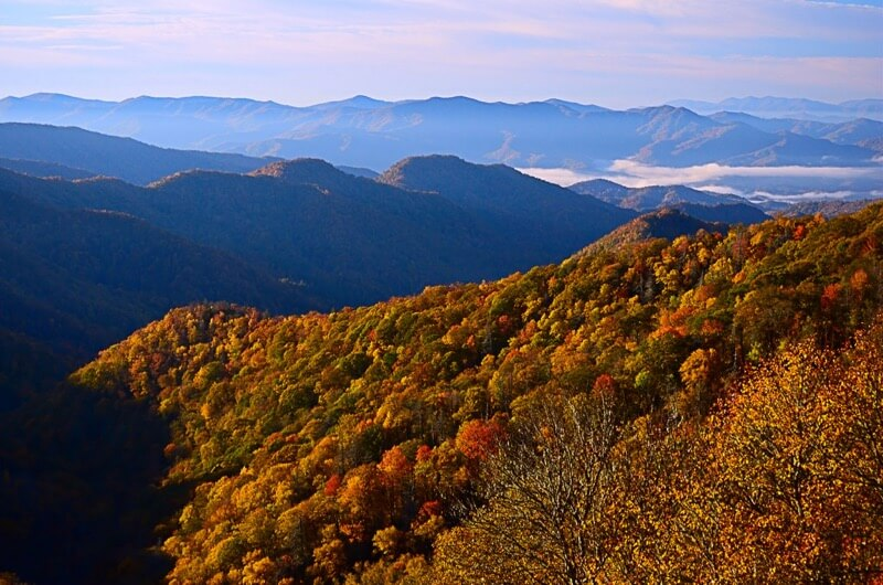 John Collins - Fall at Newfound Gap Overlook