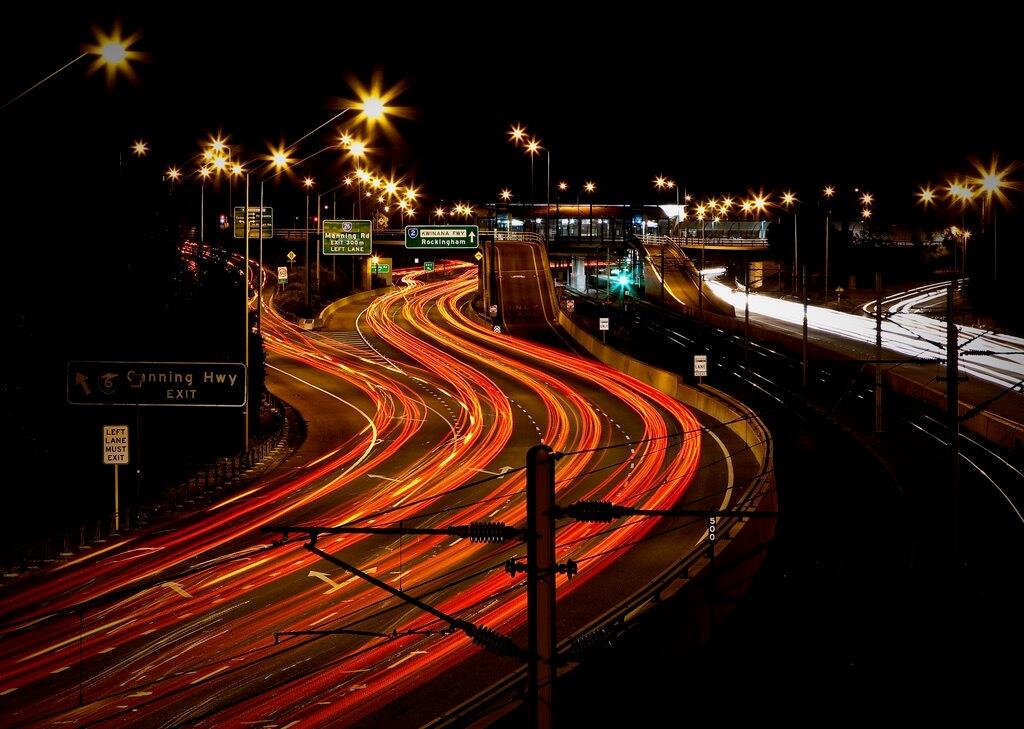 Stephen Humpleby long exposure traffic
