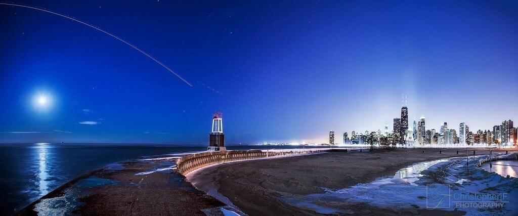 Chicago full moon