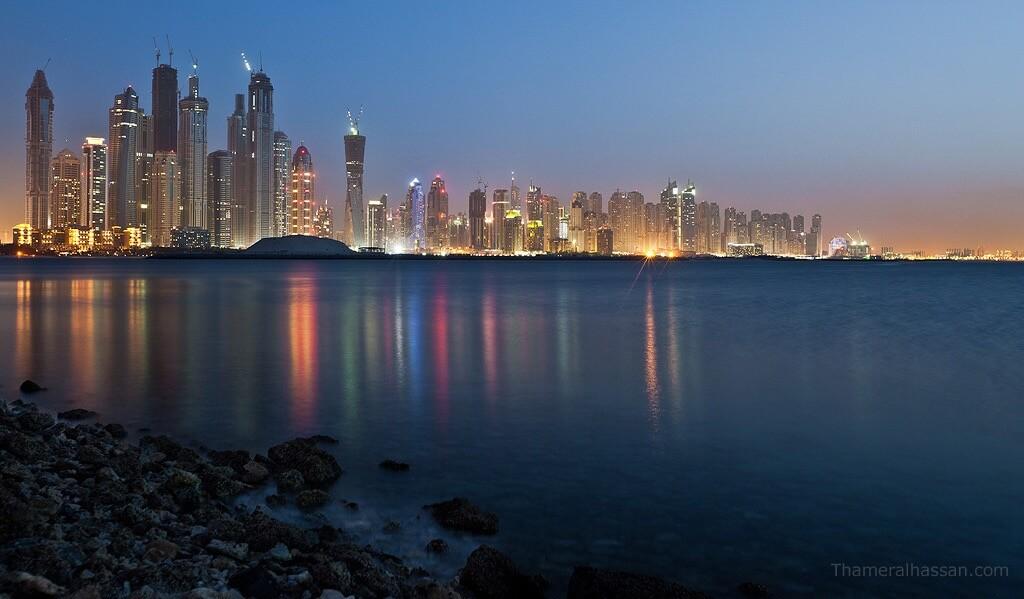 Thamer Al-Hassan - Dubai Sea Cityscape