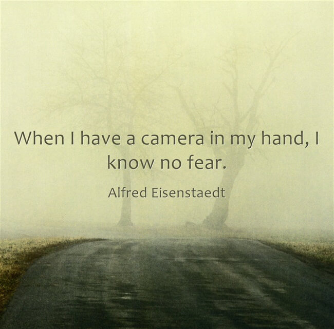 photography quote alfred eisenstaedt