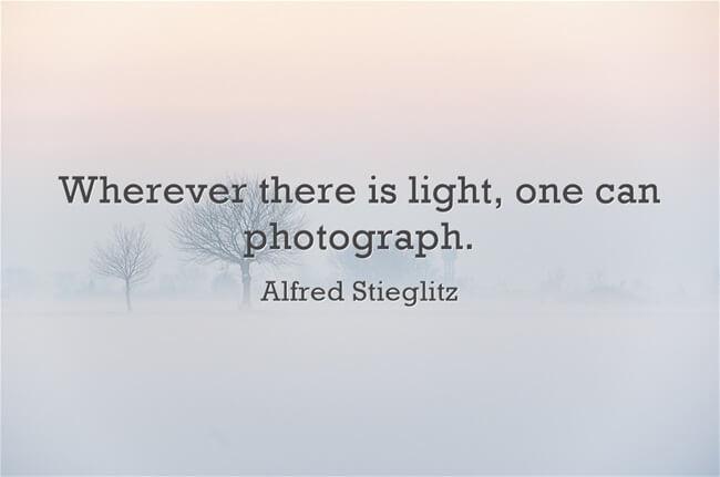 photography quote Alfred Stieglitz