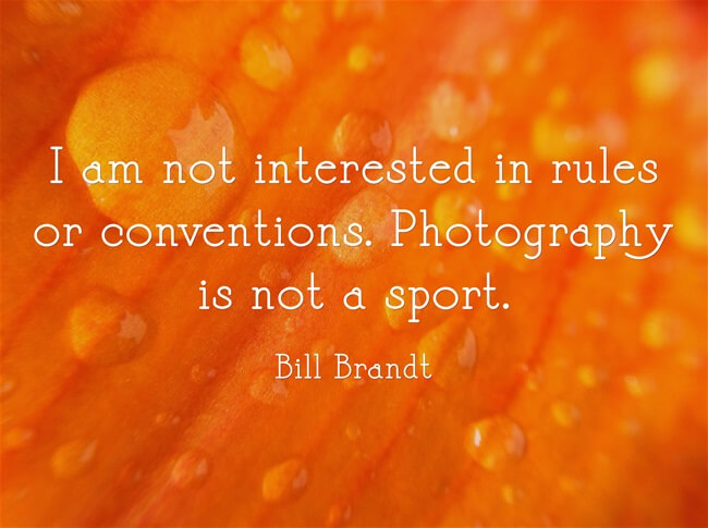 photography quote bill brandt