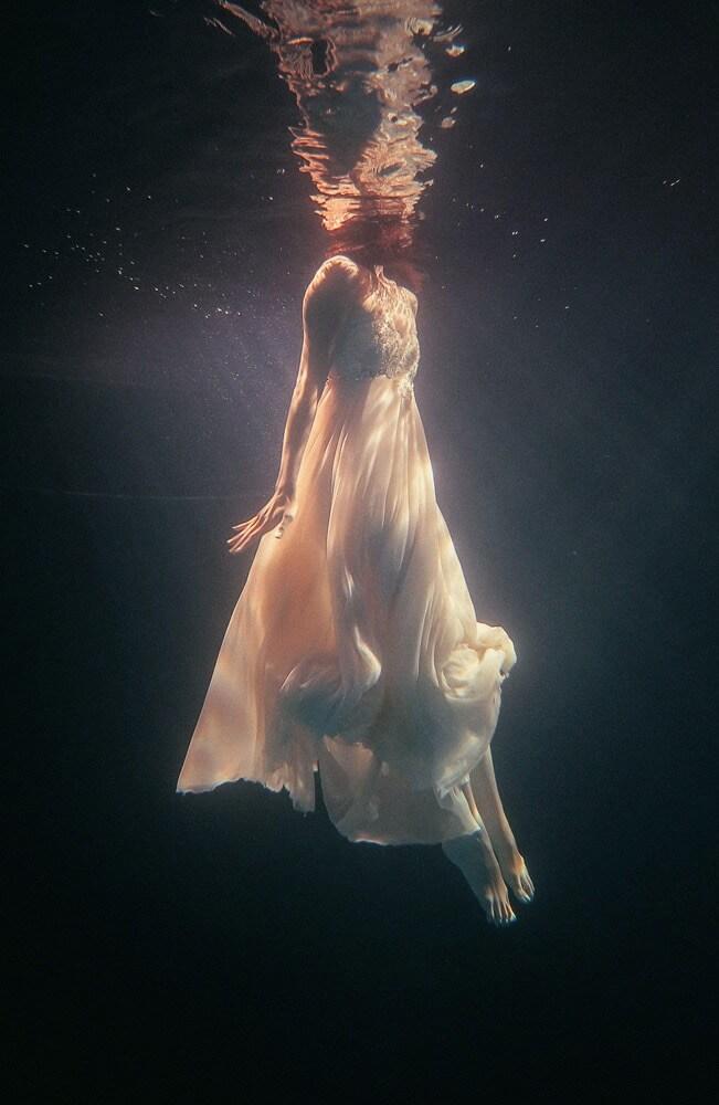 julian oh swimming in dress