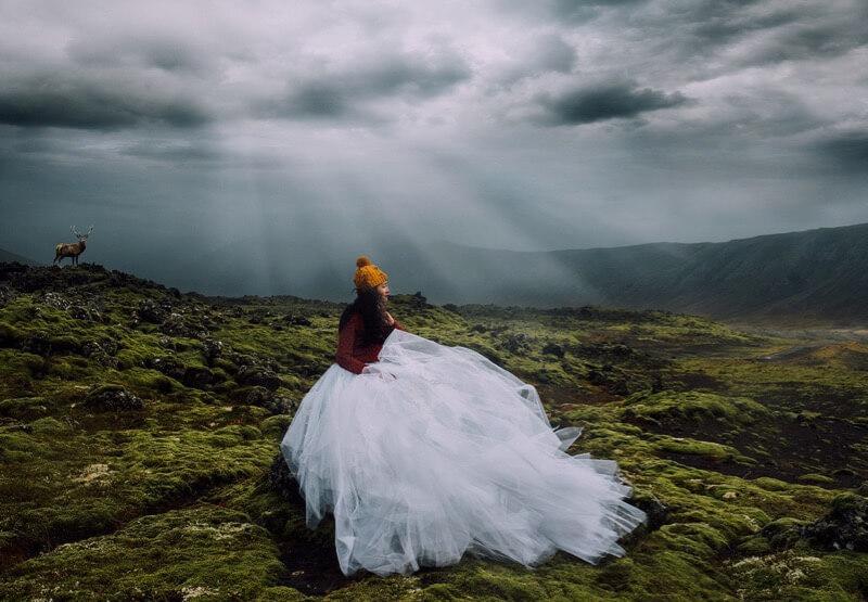 Anh Tu Nguyen - Bride in Iceland