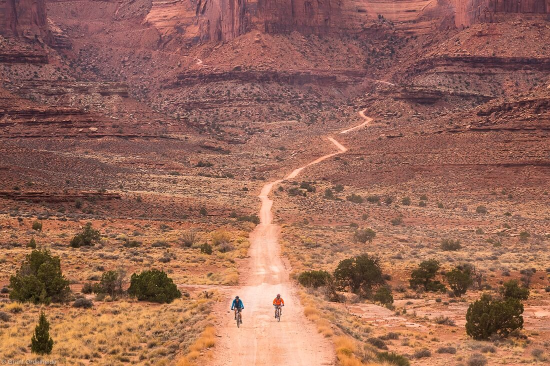 White Rim Trail in Canyonlands National Park