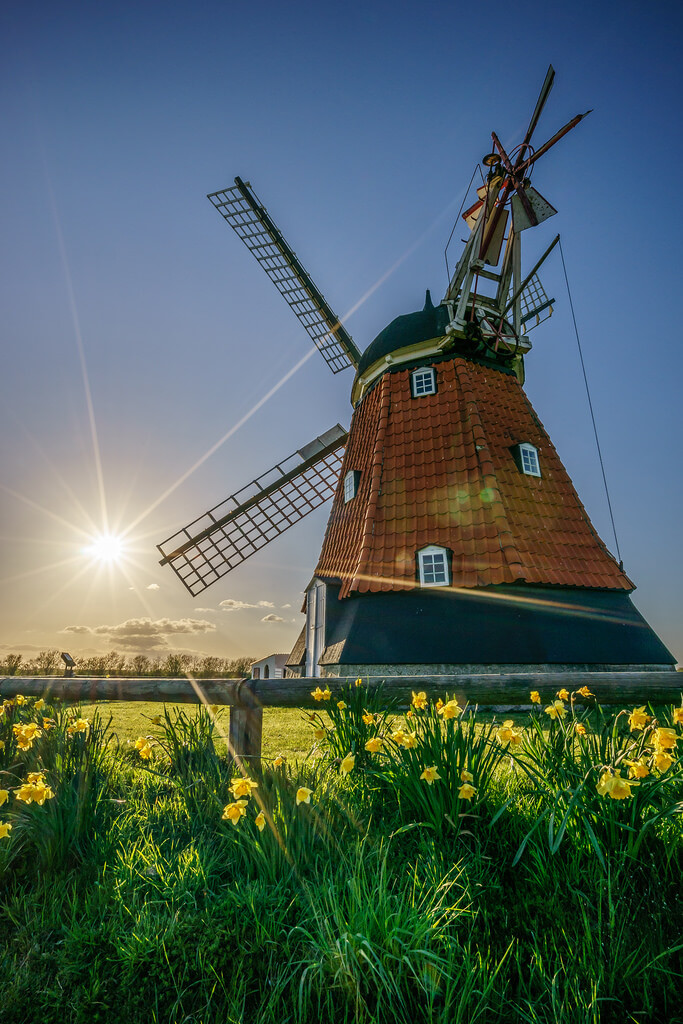Giuseppe Milo - Bjerre windmill, Stenderup, Denmark - Travel photography
