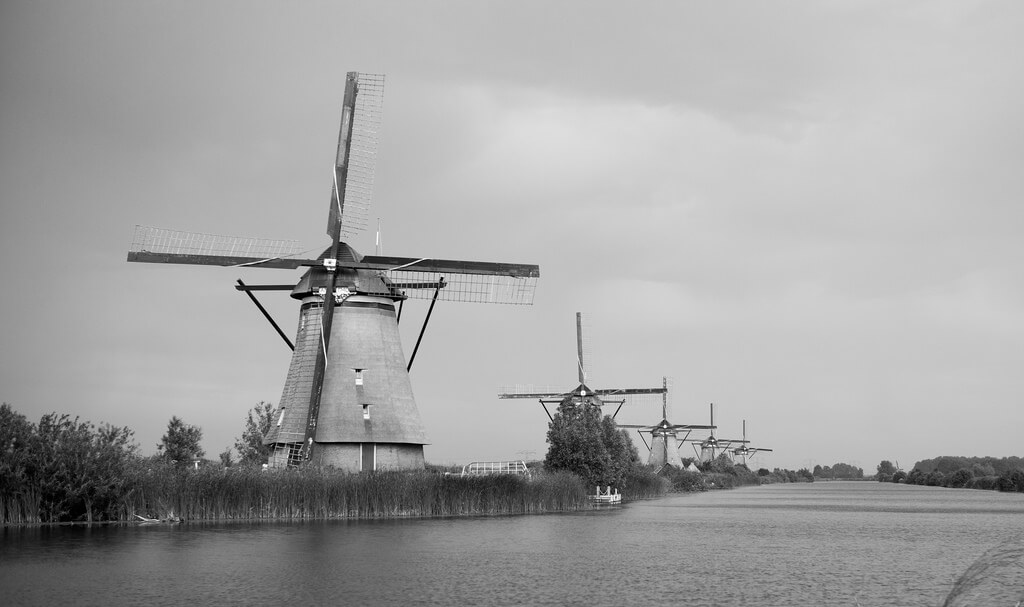 Roman Boed - Kinderdijk, Holland