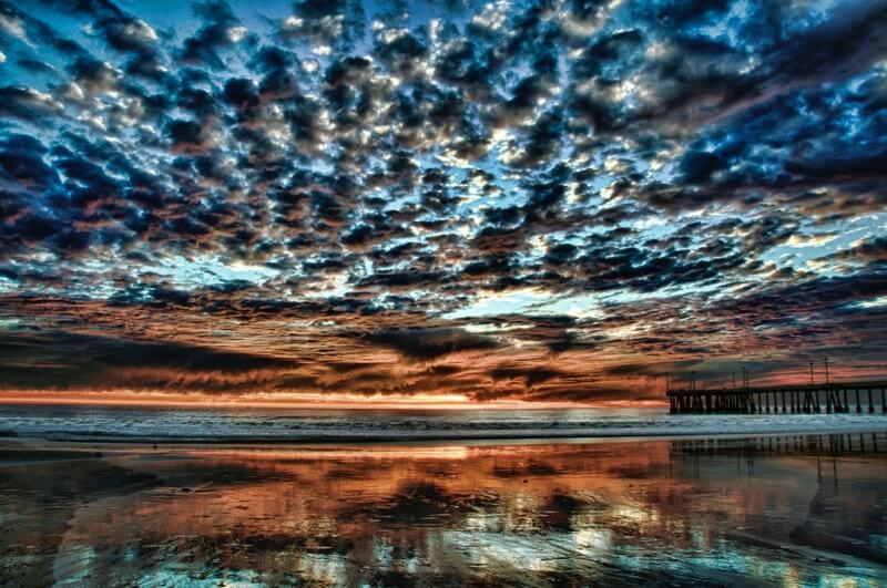 Ken Shelton - Venice Beach Sunset