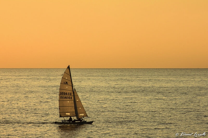 Vincent Lanzolla - SUNSET SAILING