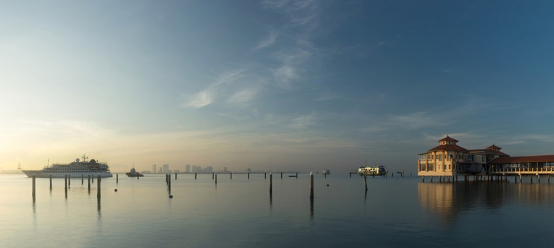 Arthur Lee - Sunrise at Penang Jetty