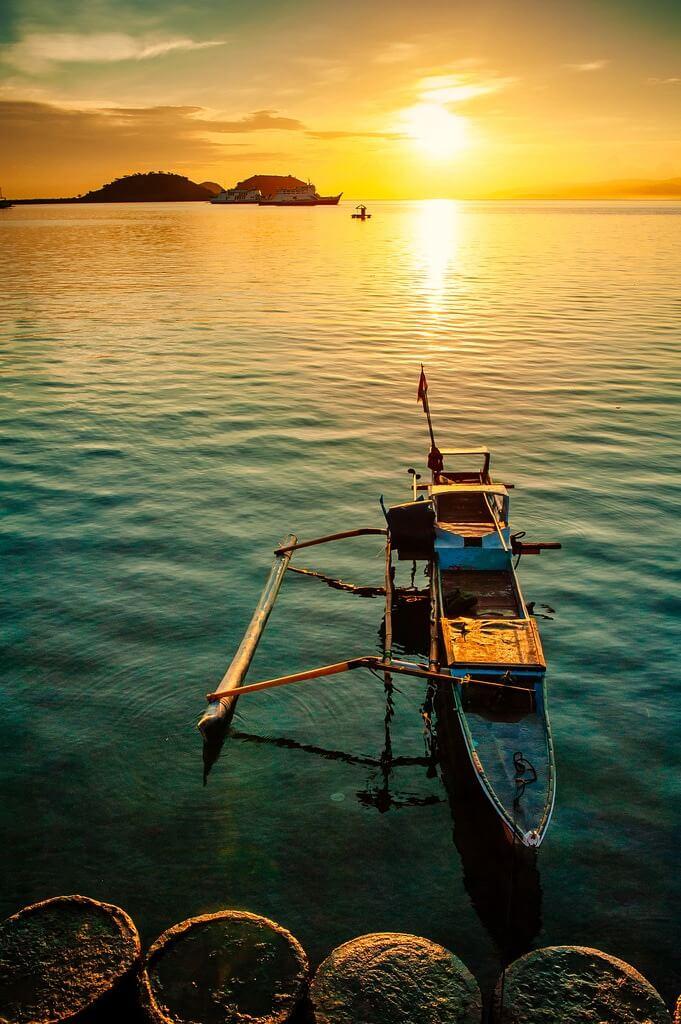 Ahmad Syukaery - Sunrise at Poto Tano, Sumbawa