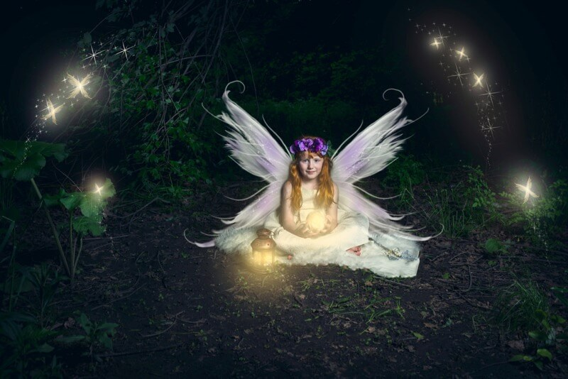fairy photo shoot