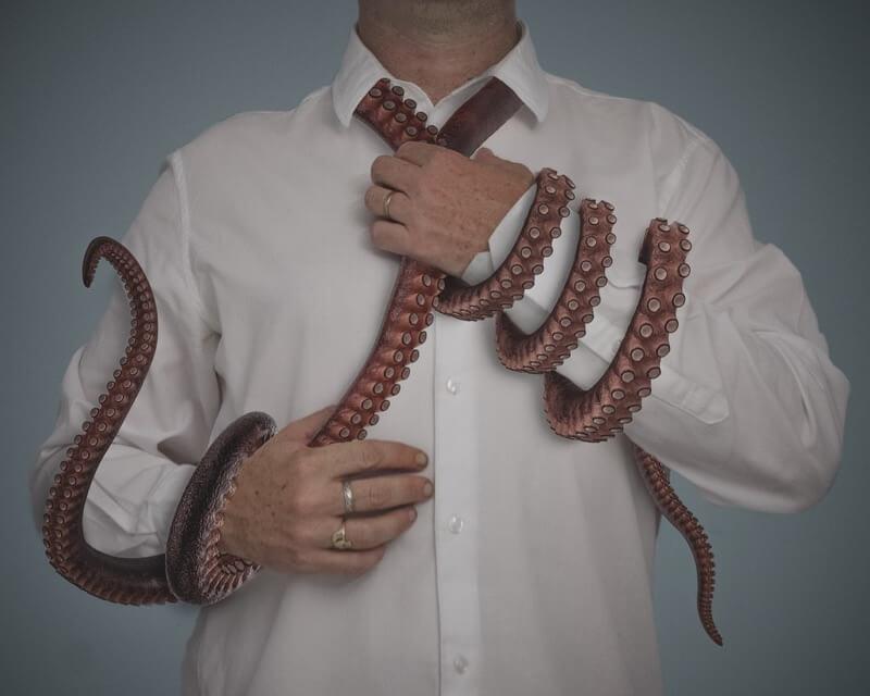 Ciaran Magee octopus necktie