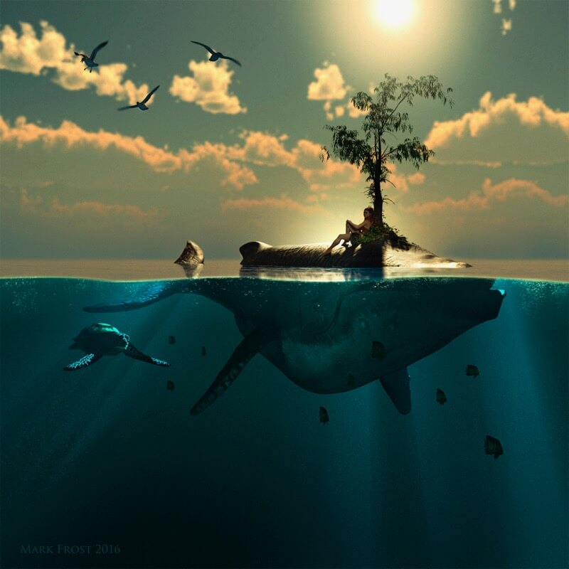 Isla ballena Mark Frost