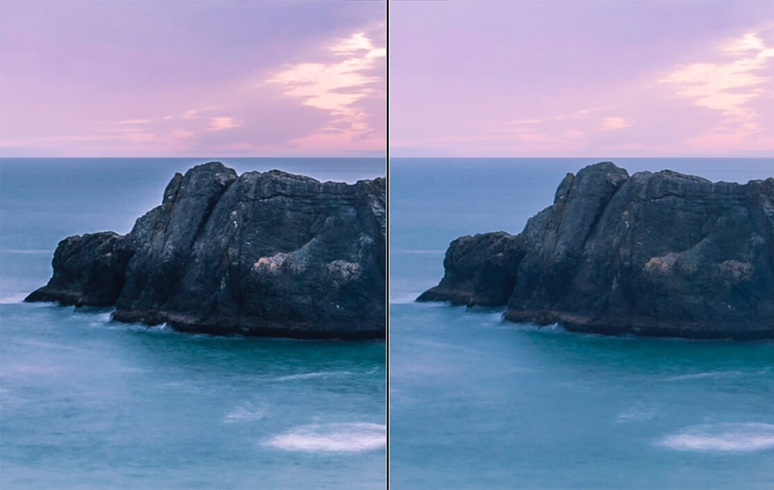 overuse of sliders in Lightroom