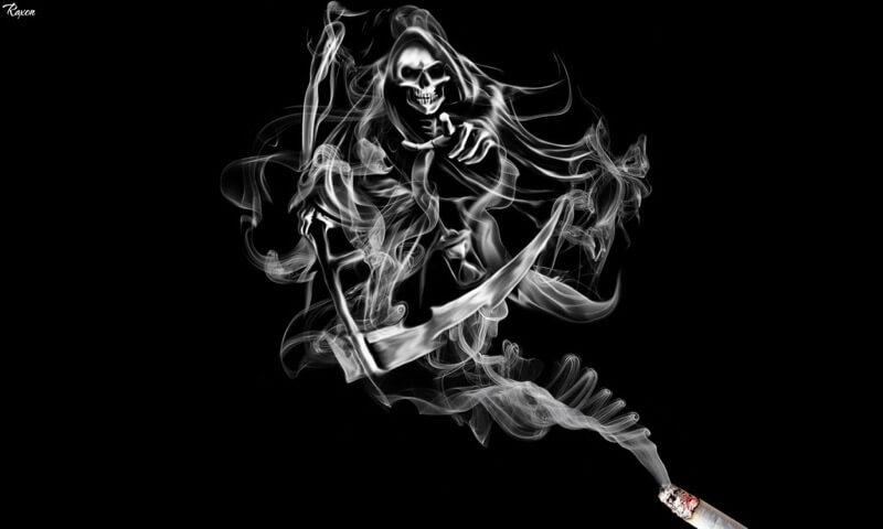 grim reaper cigarette