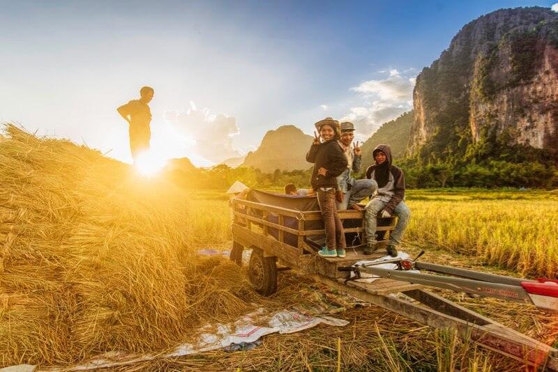 Ahmad Syukaery - Happy Vang Vieng Farmers, Laos