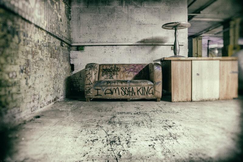 sofa king graffiti