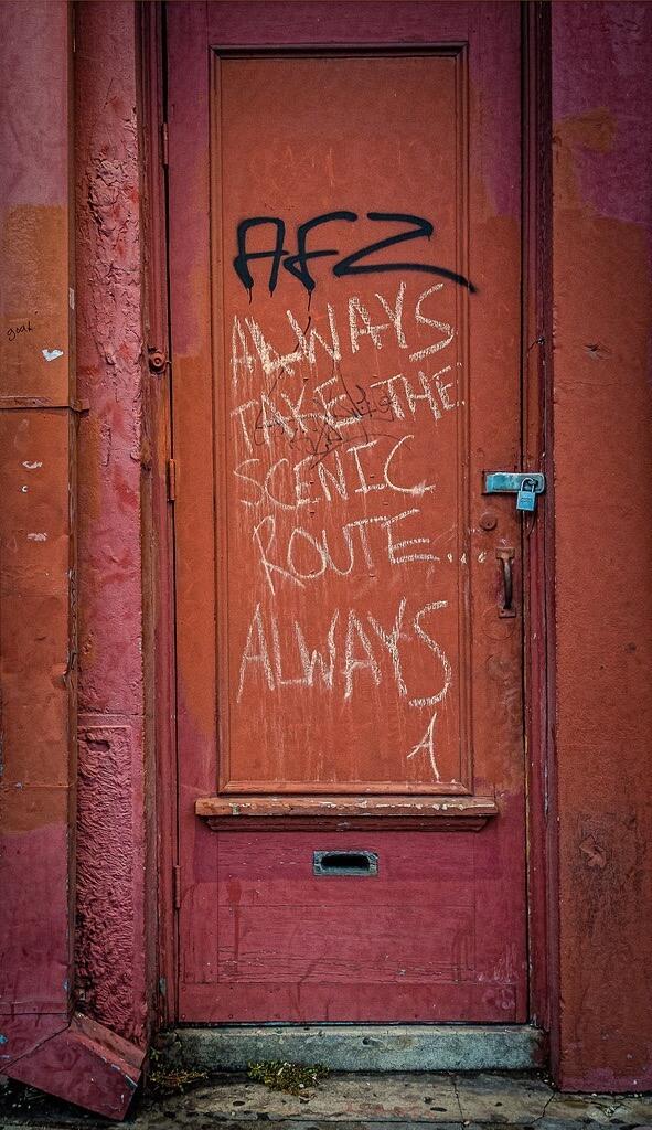 Dave Adams graffiti