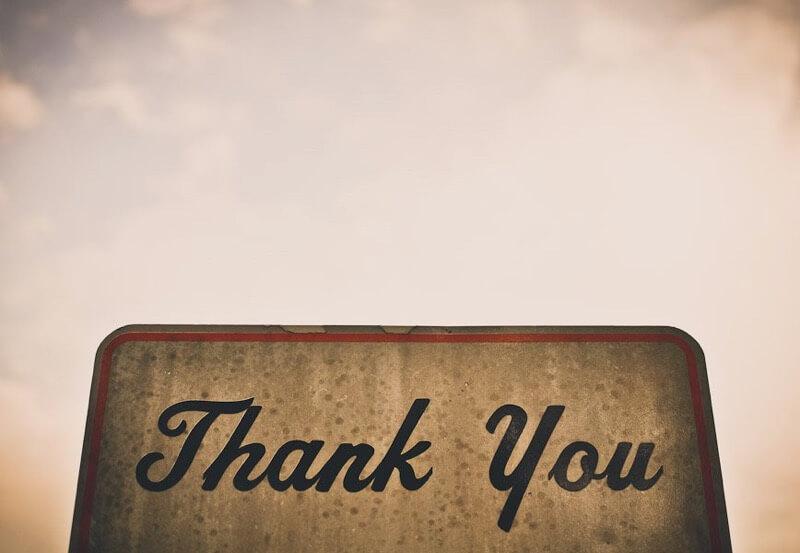 jordan parks thank you sign