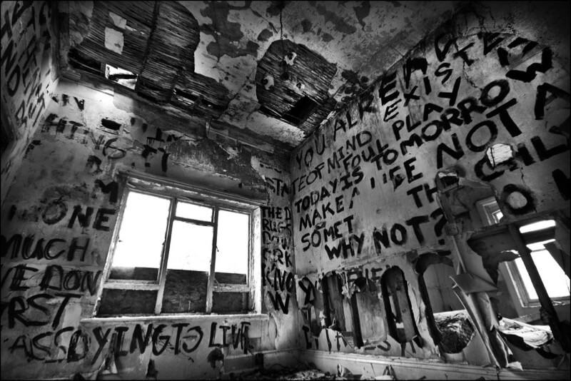 writing on walls