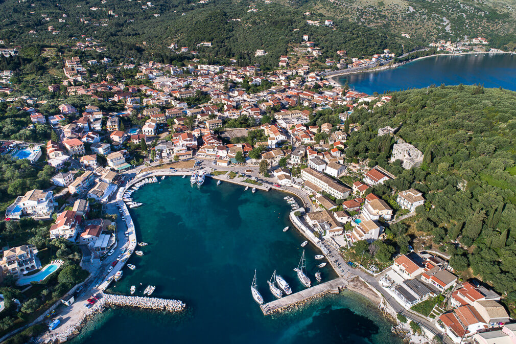 Kassiopi harbour Corfu