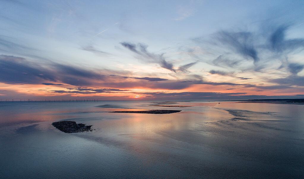 Sunset over Sandbars