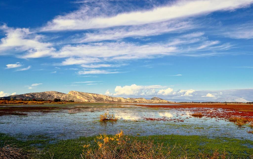 Tenia Prokalamou autumn landscape