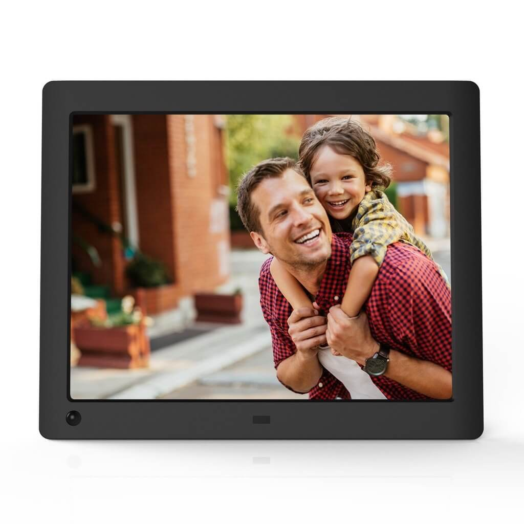 NIX Advance - 8 inch Hi-Res Digital Photo Frame with Motion Sensor