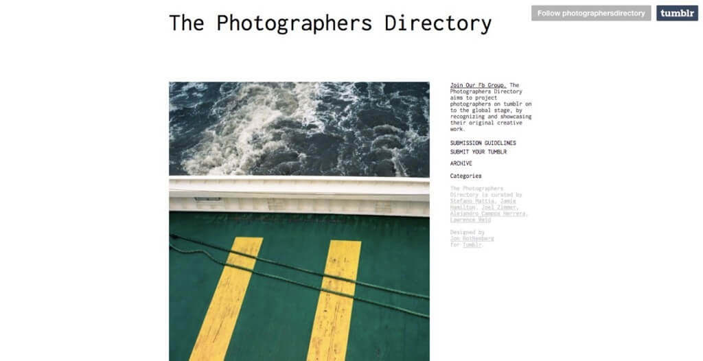 The Photographers Directory