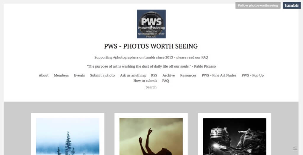 PWS – Photos Worth Seeing