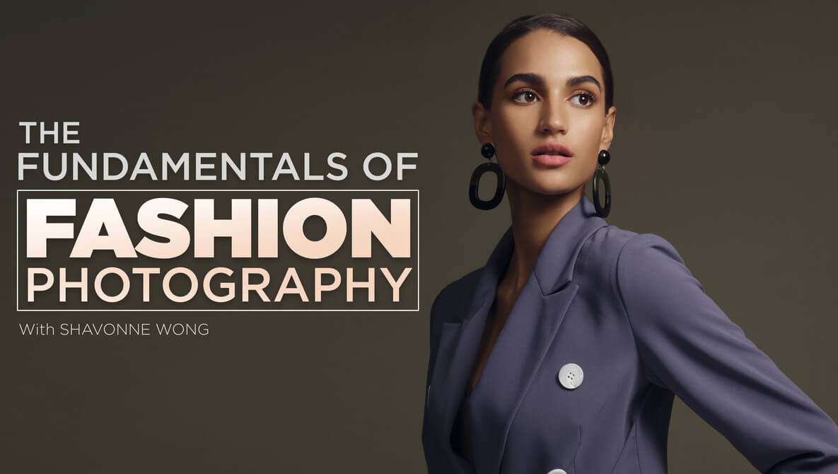 fashion model poses for photo
