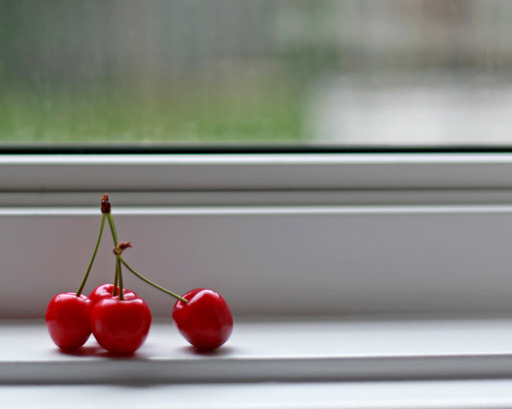 ^ Missi ^ - cherries in the window