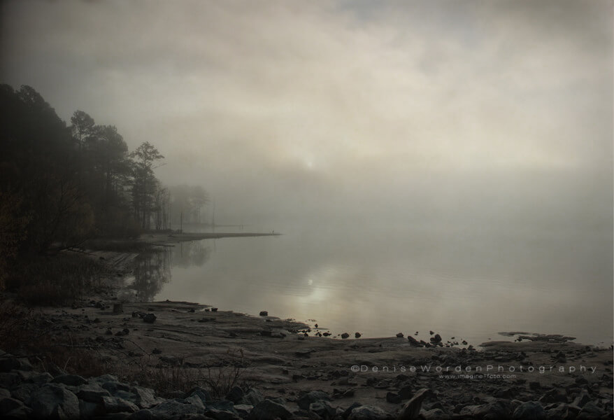 Denise Worden fog over water