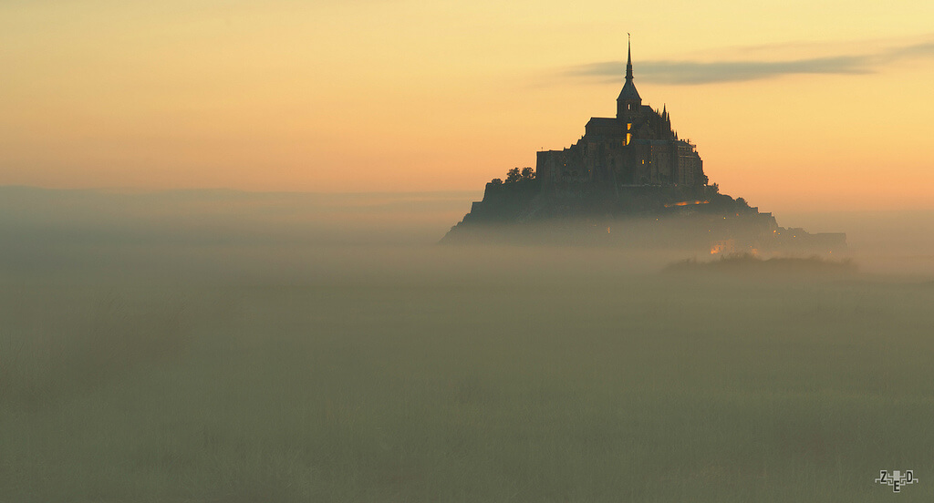 Zed The Dragon - Le Mont-Saint-Michel un matin