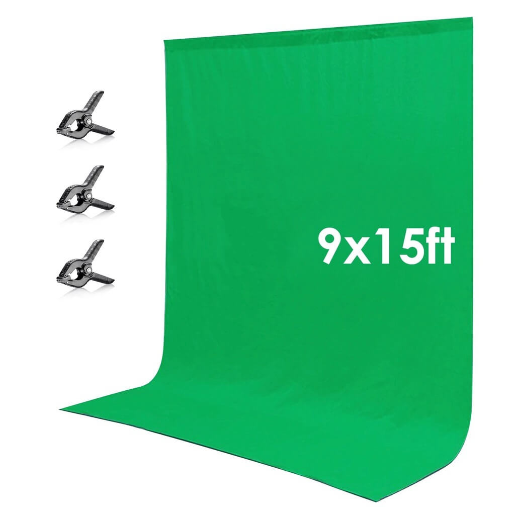 Neewer Green Chromakey Muslin Backdrop Background Screen