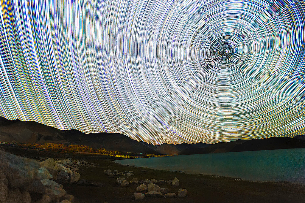 Nimit Nigam - Pangong Lake Starry Night