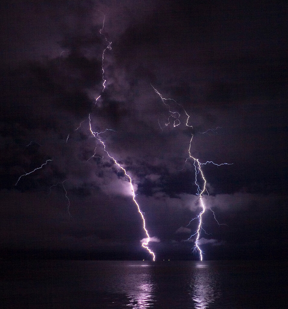 phatman - Lightning on the Columbia River