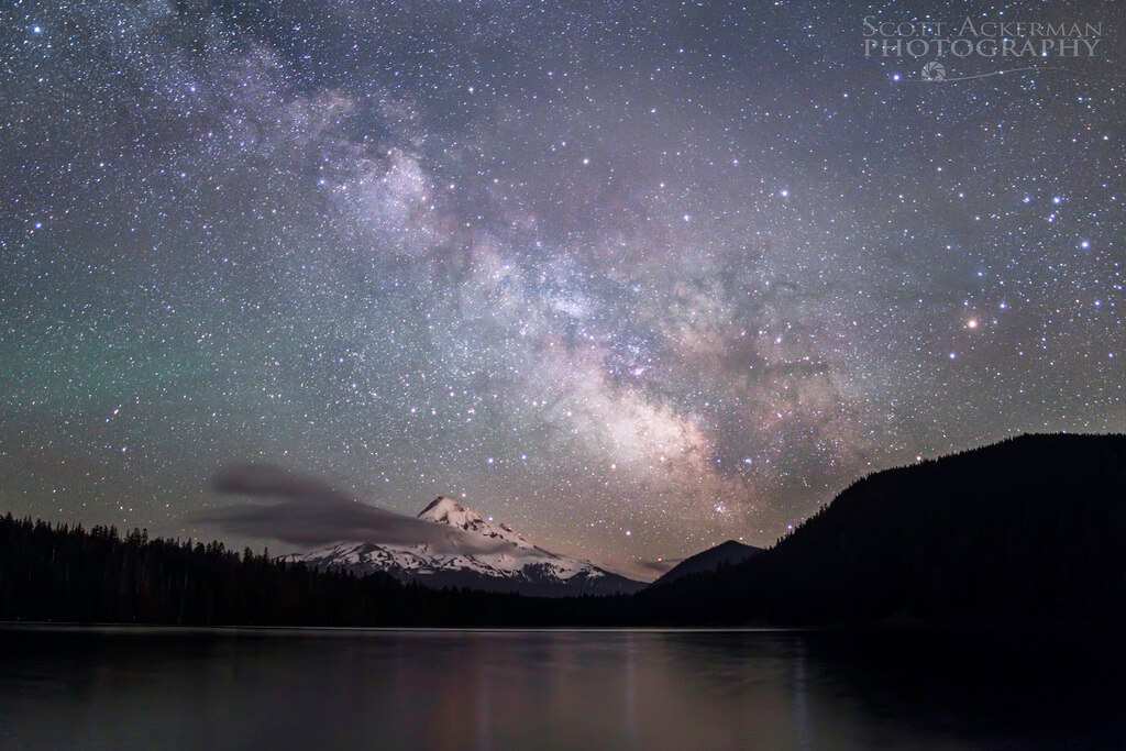 Scott Ackerman - Milky Way and the Mountain