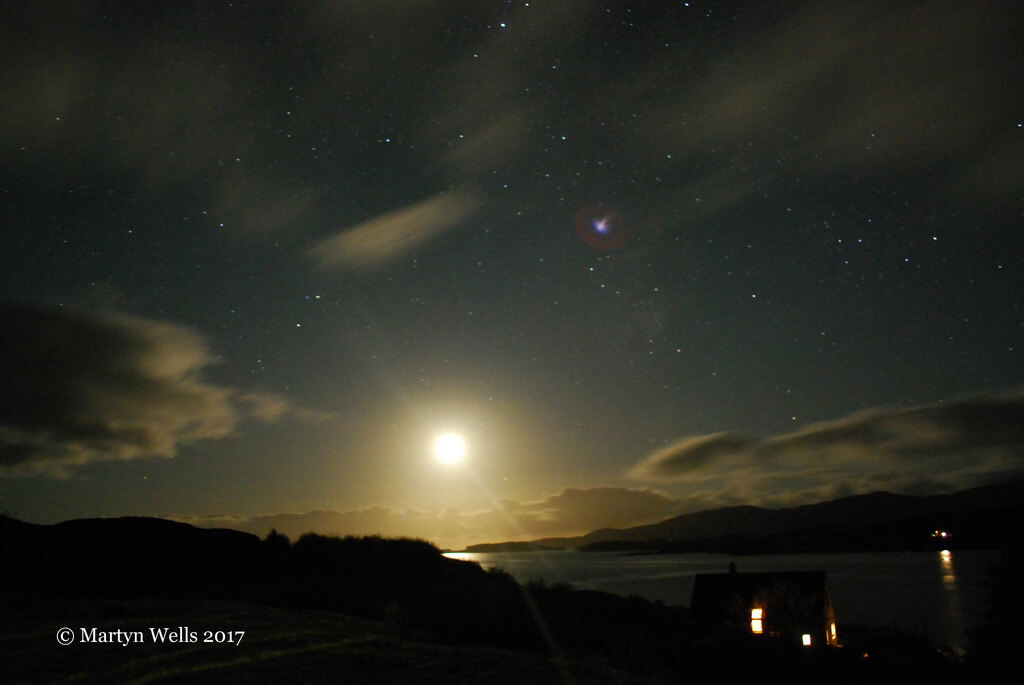 Martyn Wells - Moonlit Harlosh - Isle of Skye
