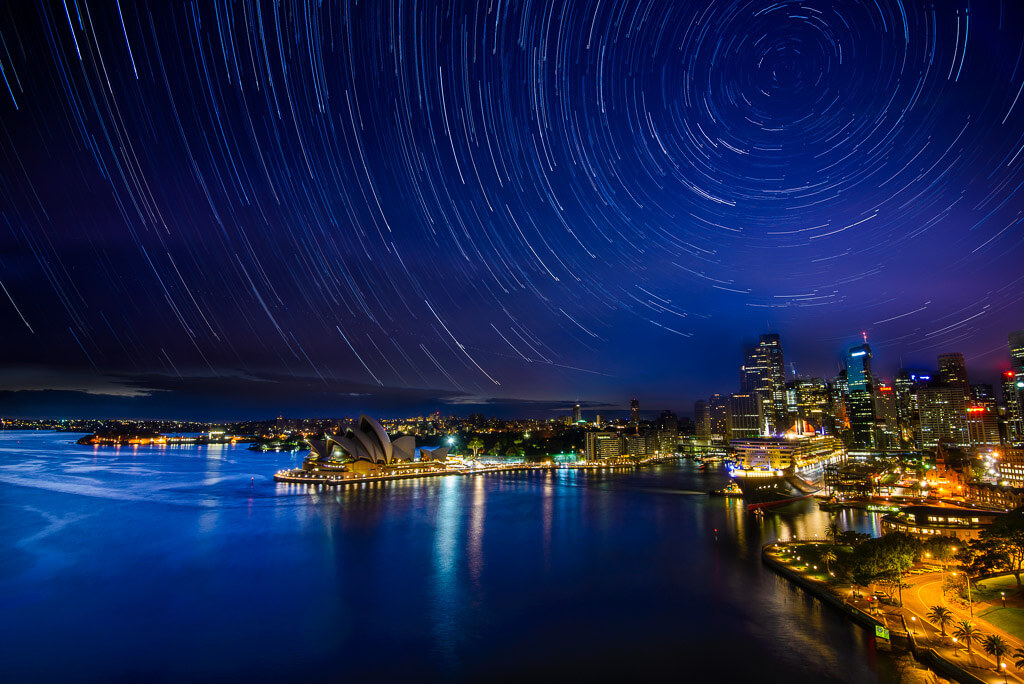 Rodney Campbell star trails