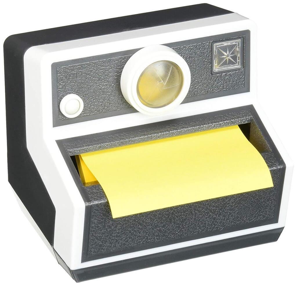 Camera Post-it Pop-Up Note Dispenser